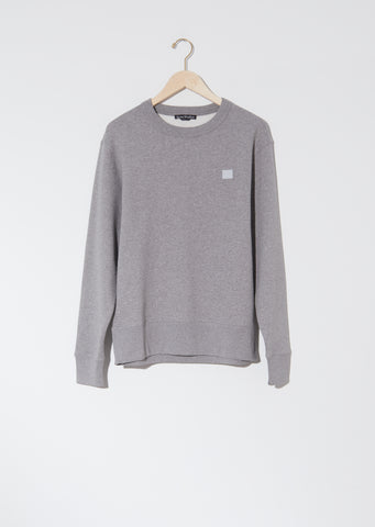Unisex Fairview Face Sweatshirt — Light Grey Melange