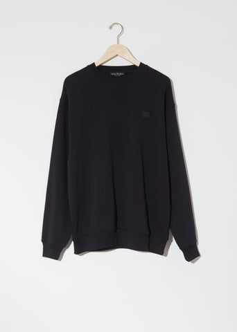 Unisex Forba Face Sweatshirt — Black
