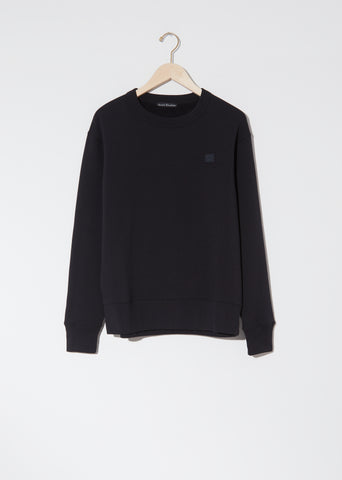 Unisex Fairview Face Sweatshirt — Black