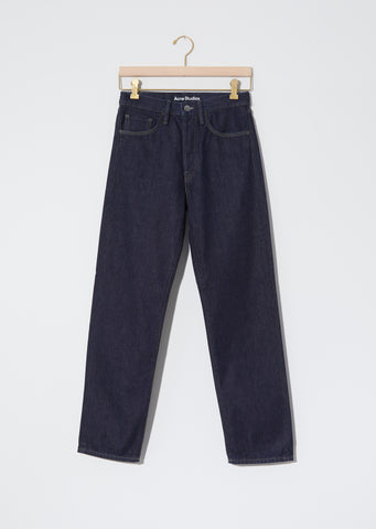 Unisex 5-Pocket Face Denim — Indigo Blue