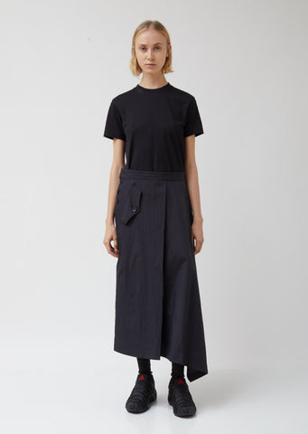 W Asymmetrical Shell Track Skirt