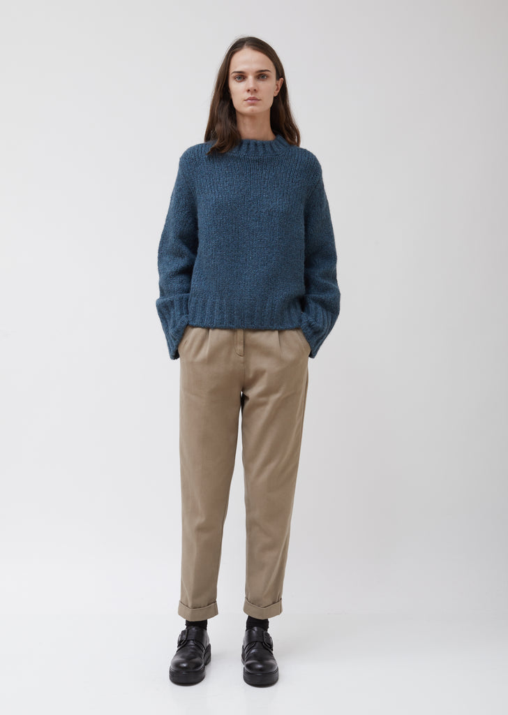 Frida Cashmere Crewneck Sweater