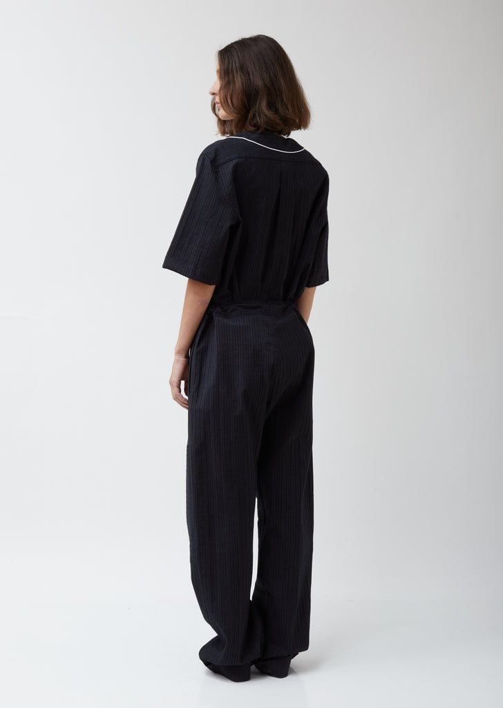 Panelled Pyjama Trousers