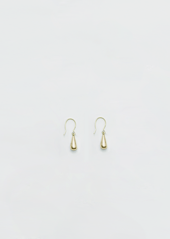 Gold Tiny Dew Drop Earrings
