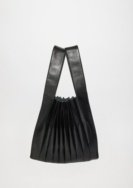 Bellows Pleats Mini Tote