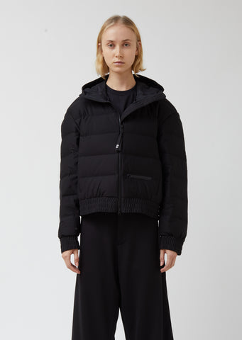 W Seamless Down Hooded Jacket