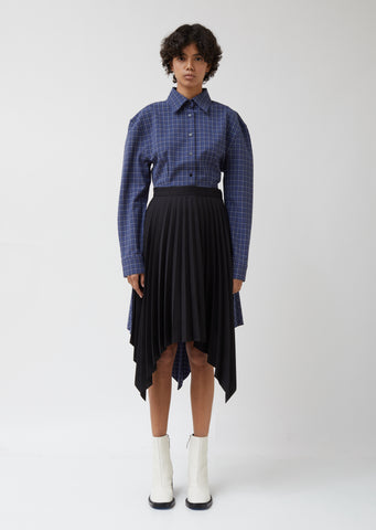 Ilsie Bico Suiting Skirt