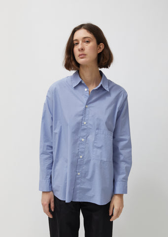 Elma Cotton Poplin Shirt