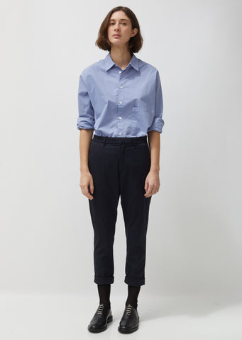 Pinstripe News Trousers