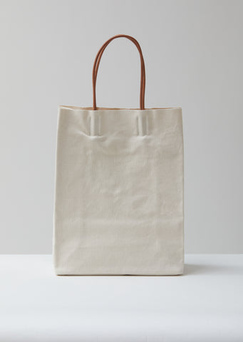 Tall Canvas Paperboy Bag