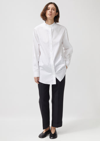 Wednesday Cotton Poplin Shirt