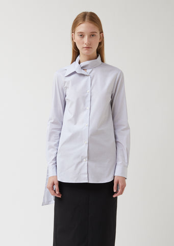 Shirt With Neck Scarf