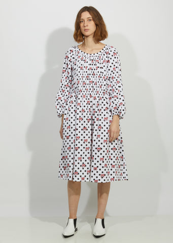Cotton Poplin Disney Print Dress