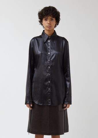 Sandy Satin Shirt