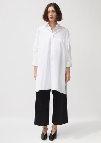 Sunday Cotton Poplin Shirt
