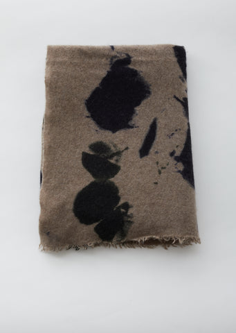 Stain Wool Cashmere Silk Blend Scarf