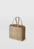 Lace Tote Bag Small — Sand