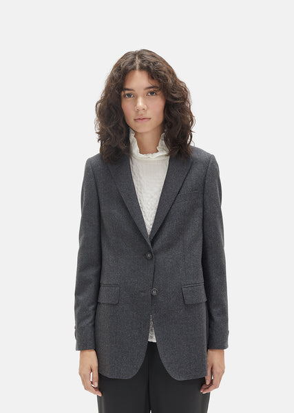 Tailored Wool Blazer