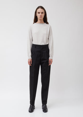 High-Waisted Suiting Star Trousers #10