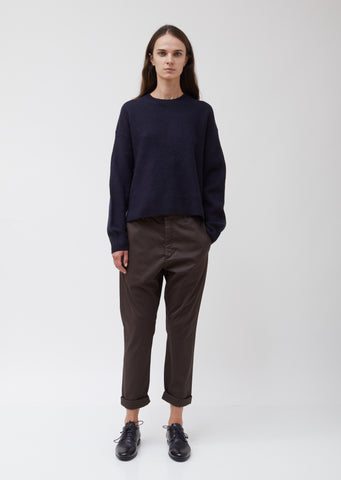 Brown News Trousers #5