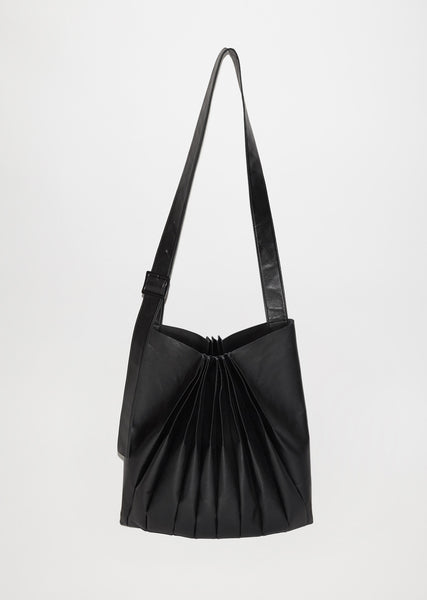 Bellows Pleats Shoulder Bag
