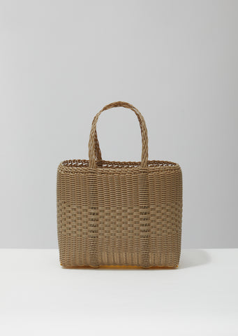 Small Handwoven Lace Tote