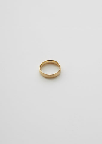 18K Classic Oval Ring — 4.5mm