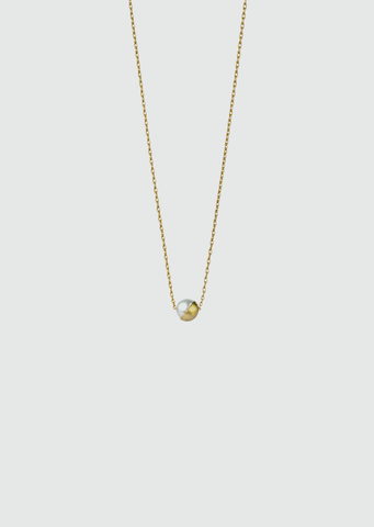 Half Pearl Necklace 45°