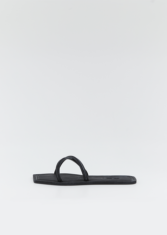 Crisscross Square Toe Slides