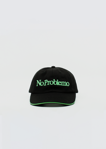 No Problemo Cap — Black