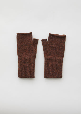 Felted Wool Fingerless Gloves
