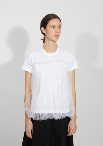 Tulle Front T-Shirt