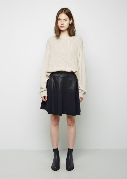 3.1 Phillip Lim Coated Wool Skirt La Garconne