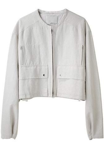 Cropped Oversized Jacket