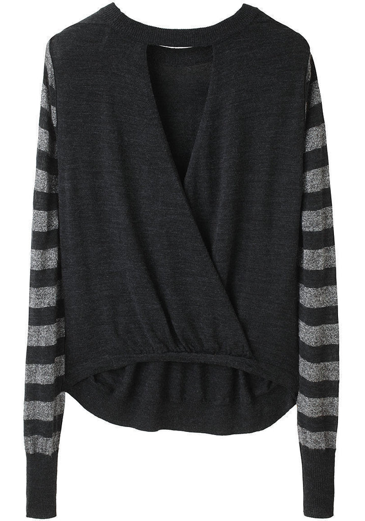 Cross V-Back Pullover