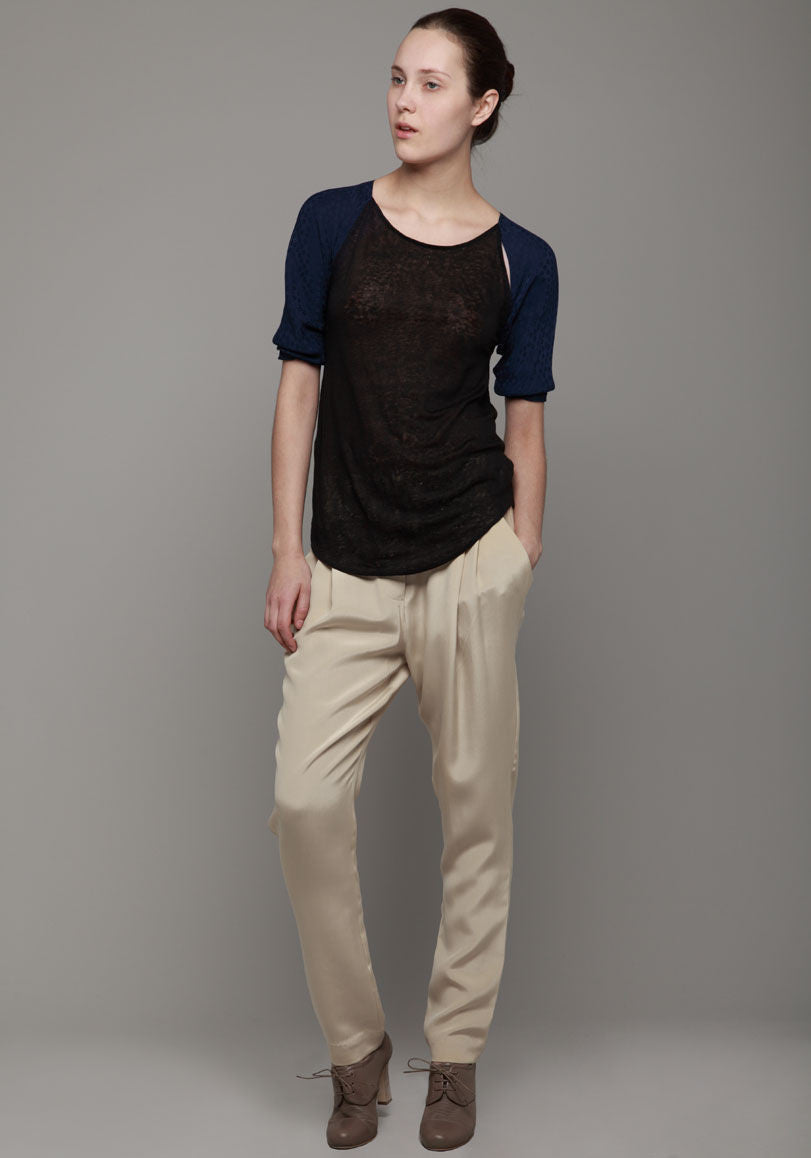 Draped Pocket Trouser