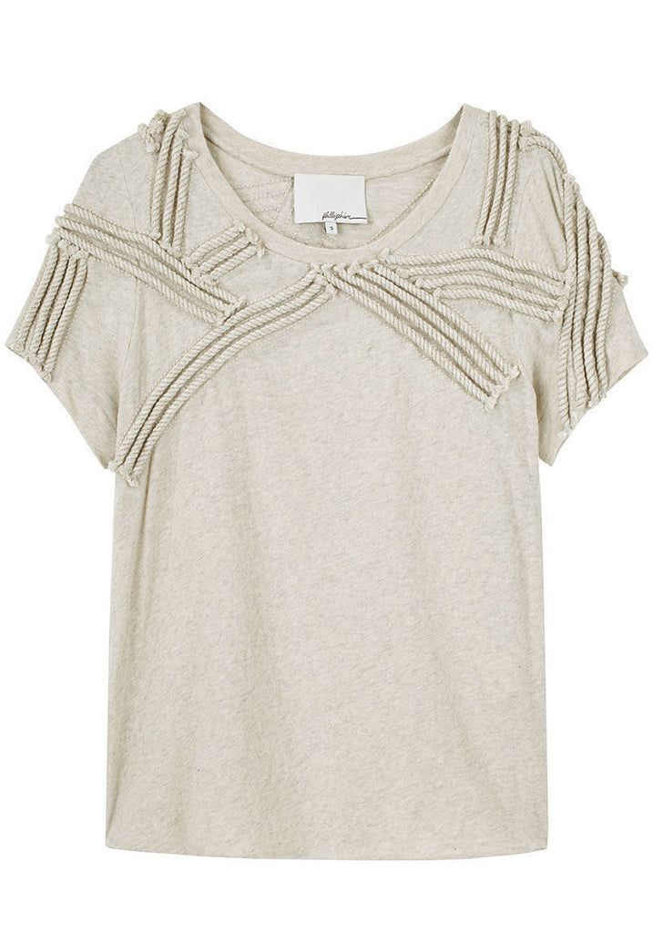 Embroidered Rope Tee