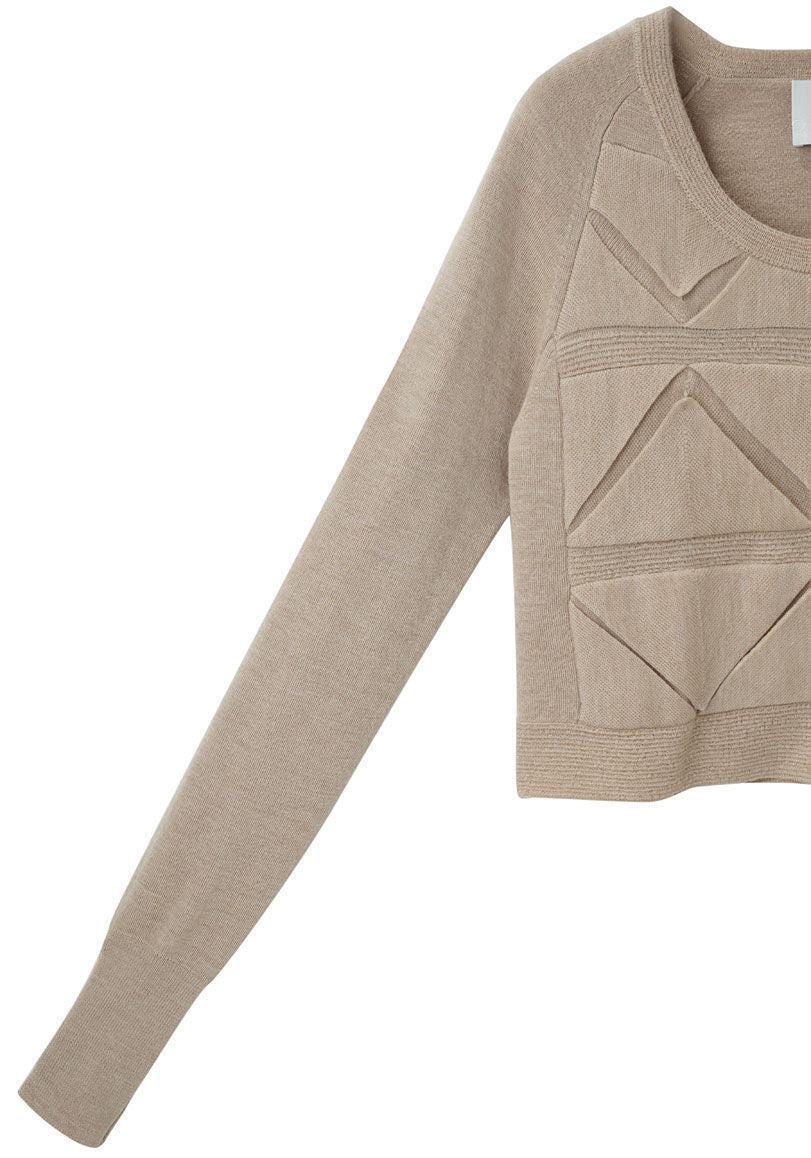 Folded Triangle Sweater