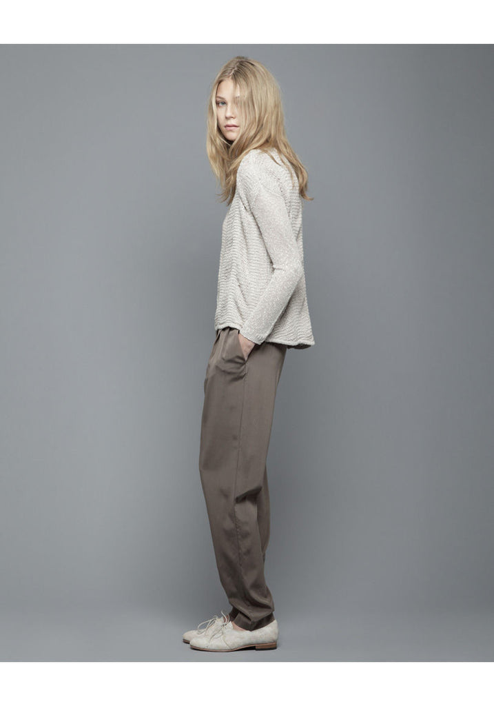 Knot Front Trouser