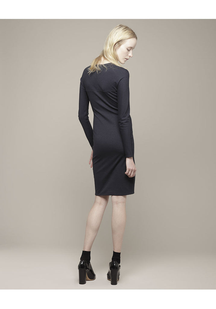 Long Sleeved Jersey Dress