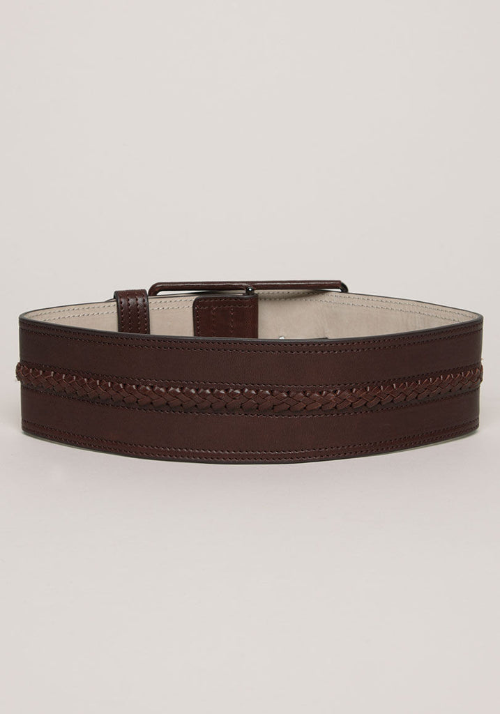 Lynus Wide Braided Belt