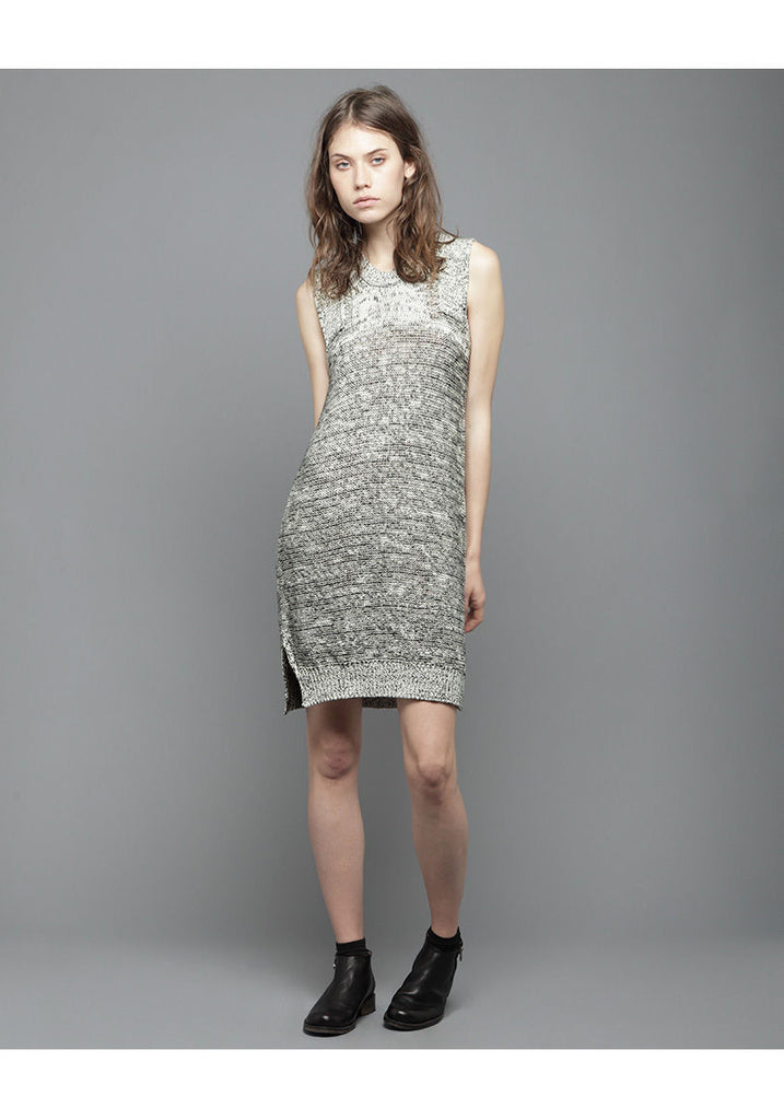 Marled Tunic Dress