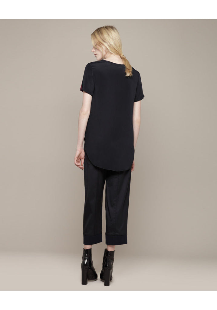 Overlapped Side Seam Tee
