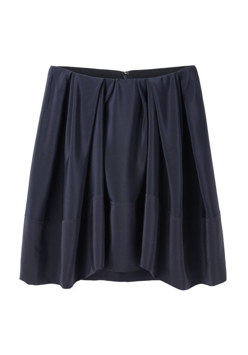 Pleated Umbrella Skirt