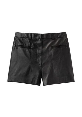 Raw Edge A-Line Shorts