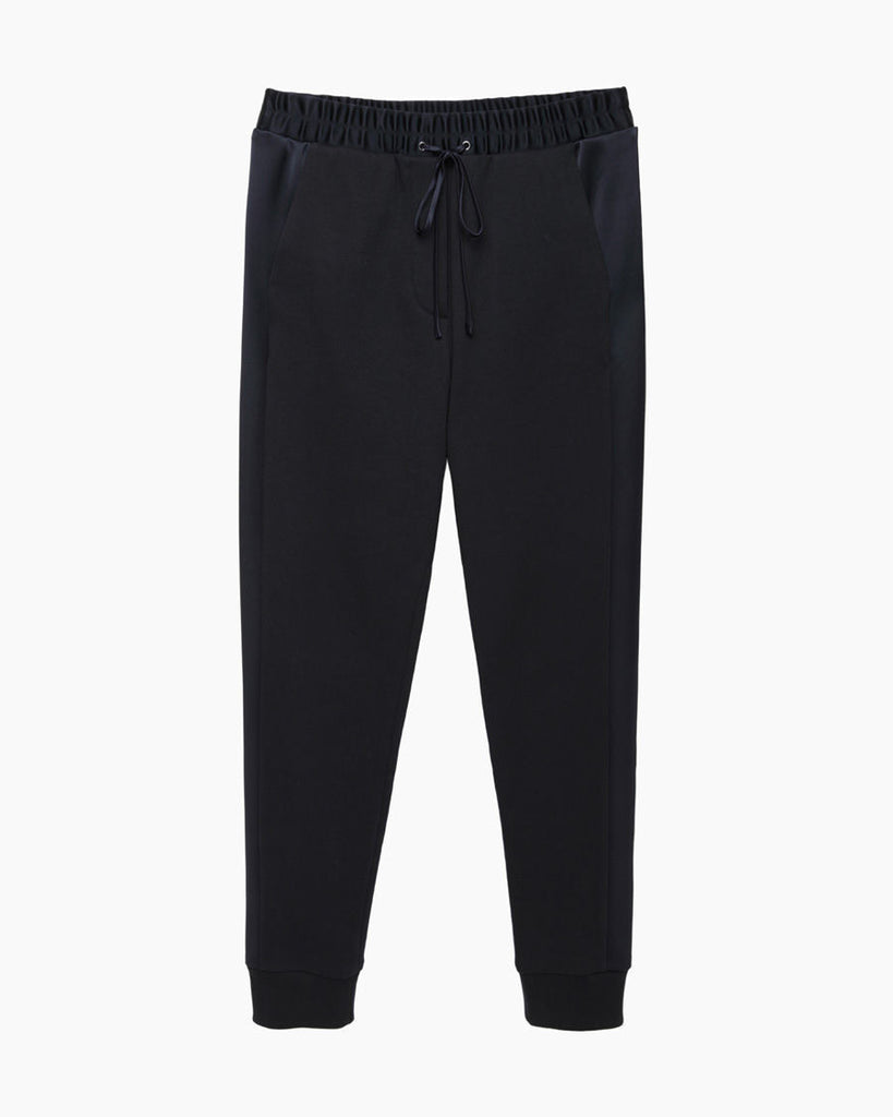 Satin Terry Sweatpant