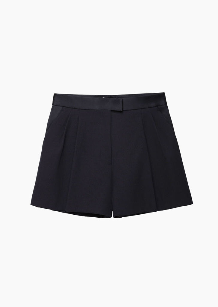 Satin Trim Trouser Short