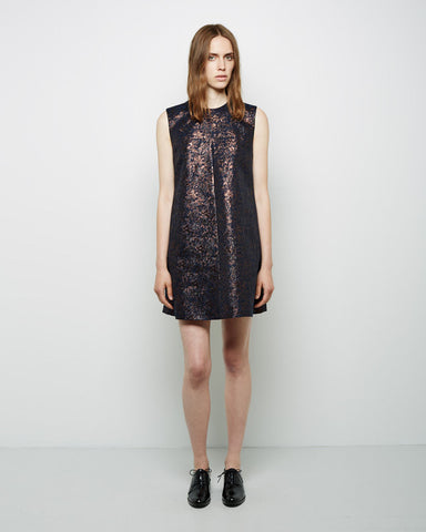 Sculpted Jacquard Minidress