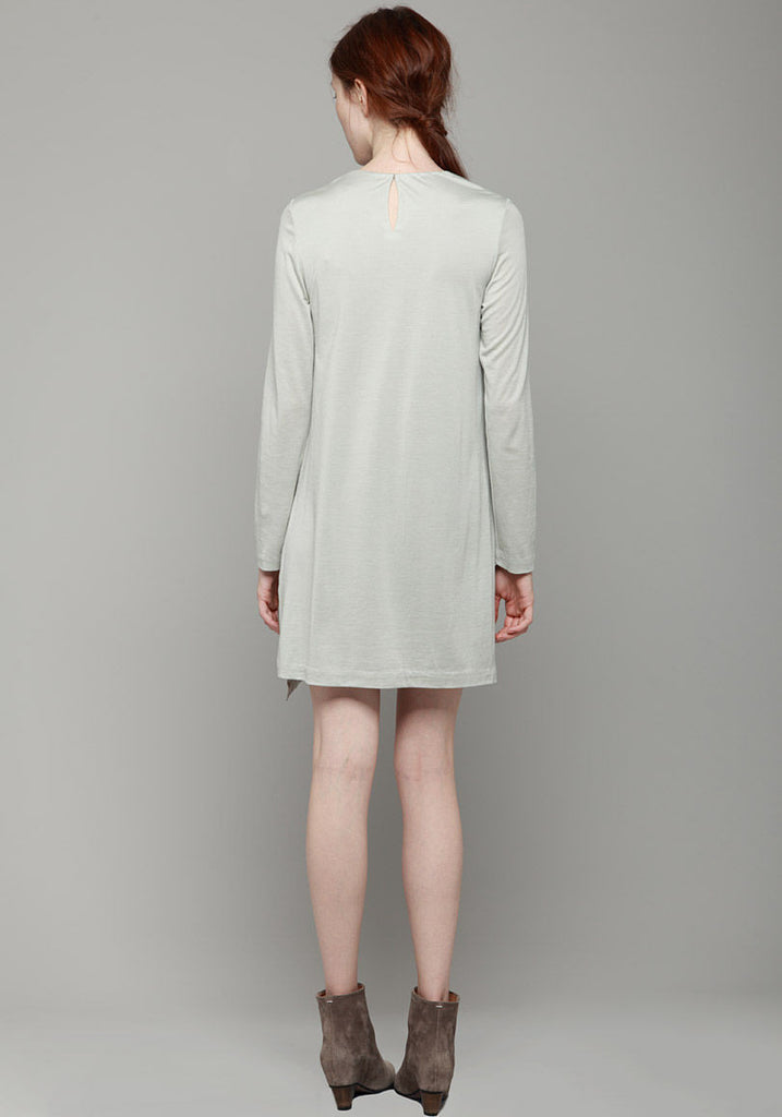 Slant Hem Dress