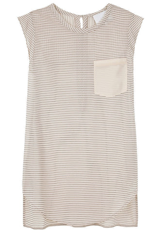 Sleeveless Pocket Top